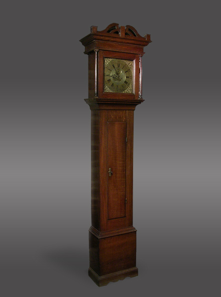 Antique 8-day longcase clock