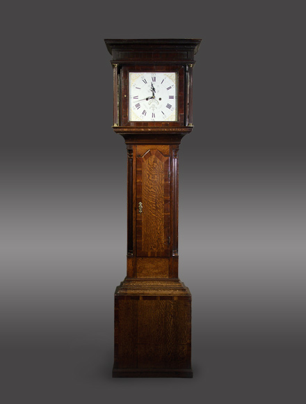 Antique 30-hour longcae clock