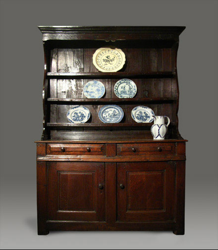 Welsh dresser from the Conwy Valley